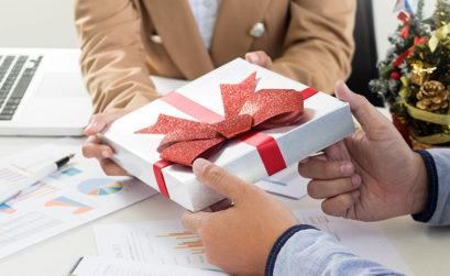 Cadeau d'entreprise pour Noël